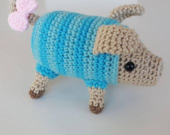 "Crocheted Monster Hunter Inspired ""Poogie"""