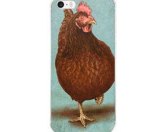 Rhode Island Red Chicken Phone Cover - iPhone Case