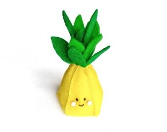Pineapple Pincushion, Cute Pineapple Decor, Pineapple Pincushion, Unique Pincushions, Cute Pincushion, Miniature Pineapple Pin cushion