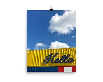 Hello' Premium Posters - Urban Mindfulness Collection