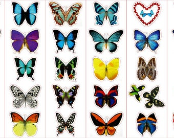 Amazing Butterfly Stickers- All 8 Sheets (Free Shipping!)