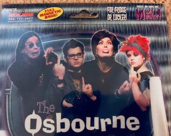 vintage Ozzy Osbourne family magnet dry erase board