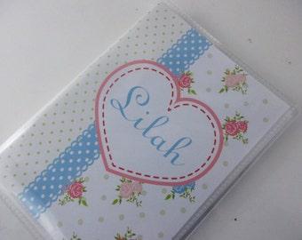 Girl Photo Album baby shower gift chic photo book shabby flower baby girl album 578