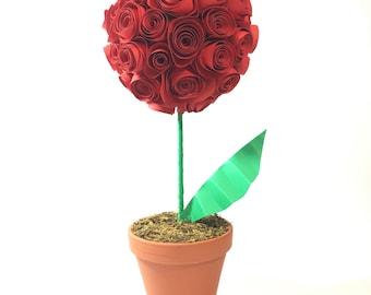 Paper Flowers Rose Bouquet (LARGE)