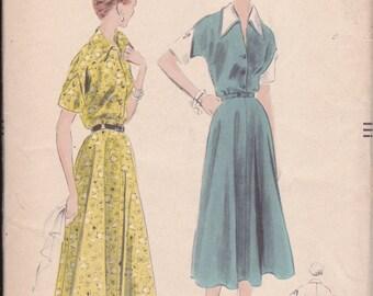 1953 Dress Pattern - Vogue - UNCUT - 14