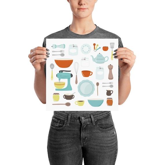 Vintage Kitchen Poster