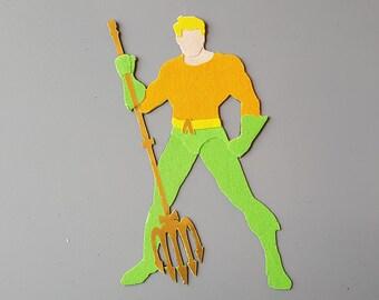 Aquaman Sticker or Magnet