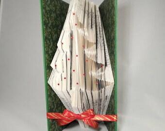 Christmas Tree Book Fold