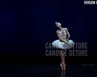 Dance / Ballet Print - 'The Swan (2 VERSIONS)'