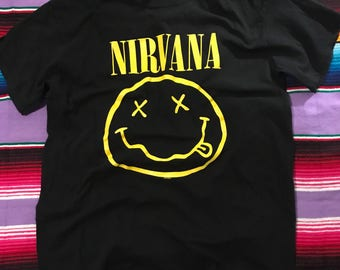 1992 NIRVANA band shirt- FREE SHIPPING