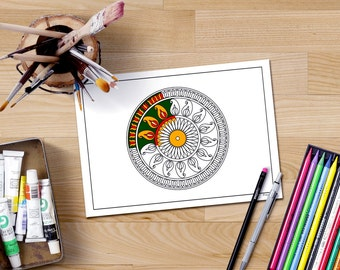 Image result for colouring books for adults mandala