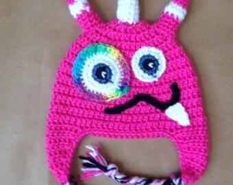 Girl Monster Hat