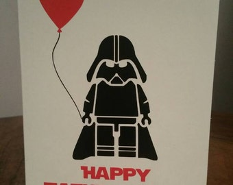 Star Wars Father's Day Fathers Day Greeting Card Darth Vader