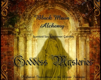 Goddess Mysteries Scented Soy Candle - HEKATE