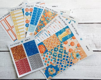 Fall Chic Weekly Kit/ Erin Condren Stickers/ Planner Stickers/ Fall Sticker Kit/ Fall Planner Stickers/ Planner Kit