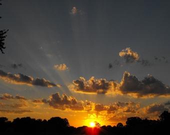 8x10 sunset