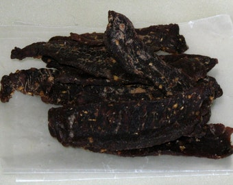 Biltong (great low-sodium option) Gourmet Beef Jerky - 1/4 lb