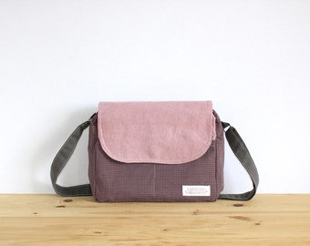 Shoulder Bag, Crossbody Bag, Women Bag, Canvas Bag, Gift for Her, Messenger Bag, Tote Bag