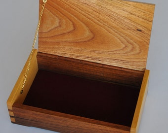 PRICE REDUCTION Timber Jewellery Box