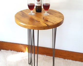Bistro Table, Reclaimed Wood Table, Round Table, Pub Cafe Table, Tall Table, Hairpin Table, Rustic Bar, Restaurant Table, Dining Table