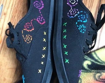 Hand Embroidered shoes