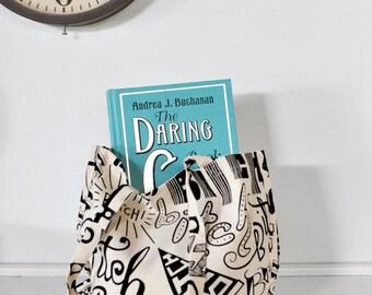 Bitch Tote Bag, Canvas Gusseted Tote Market Bag Feminist Handbag, Cool Diaper Bag, Vegan, Screen Printed Bitch Bag