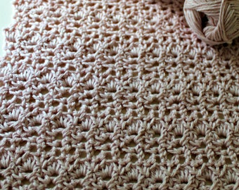 Download Now - CROCHET PATTERN Lace Confection Baby Blanket - Any Size - Pattern PDF