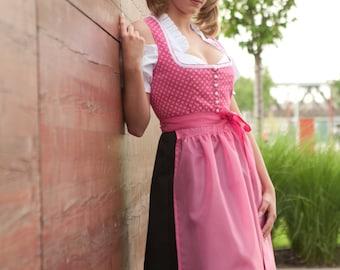 Costumes Midi Dirndl - pink or blue German Dirndl Dress Oktoberfest outfit