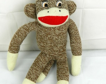 As IS Sock Monkey stuffed animal