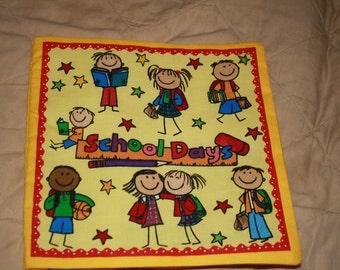 Cloth Book School Days