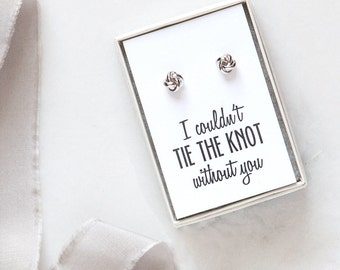 RESERVED X9 Knot Earrings