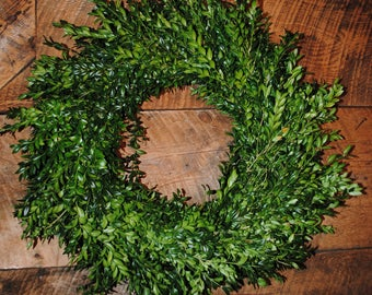 Boxwood Double sided wreath