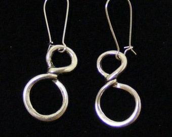 Infinity Basemetal Earrings