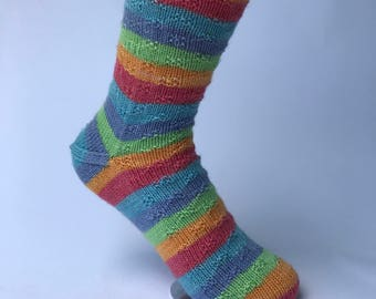 Crossroads Sock Pattern