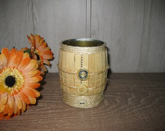 pot pencils/planter with clothespins