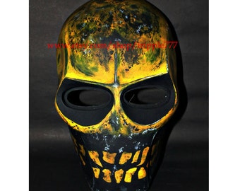 Army of two mask, Paintball airsoft mask, Halloween mask, Steampunk mask, Halloween costume & Cosplay mask, S2 monkey MA08 et