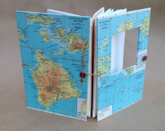 Hawaii Travel Journal - Hawaiian Honeymoon Wedding Gift - Made to Order for You - Honeymoon Journal