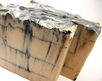 Cold Process Soap, Birch Bark Soap, Men's Soap, Handmade Soap, Palm Oil Free Soap, Bar Soap, Unisex Soap, Phthalate Free,  Father's Day Gift