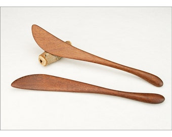 Wok Stirrer - Left or Right Hand - Minimal Modern Design - Curvaceous Kitchen Stir Fry Utensil - Handmade by Someone Who Cooks