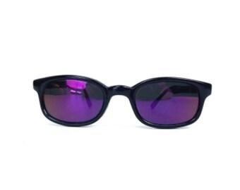 vintage 80s sunglasses NOS black sun glasses mens sunglasses eyewear sunglasses women rectangle pink purple vintage sunglasses