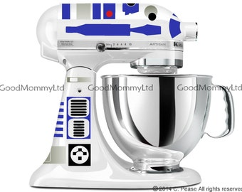 R2D2 Decal Kit for your KitchenAid Stand Mixer - Star Wars Inspired