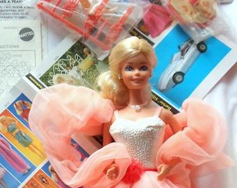 Vintage 80's Peaches n Cream Barbie