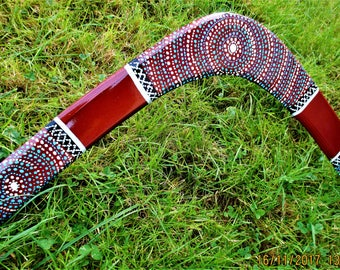 Boomerang for adult size 60 cm (right-handed) creation barabao
