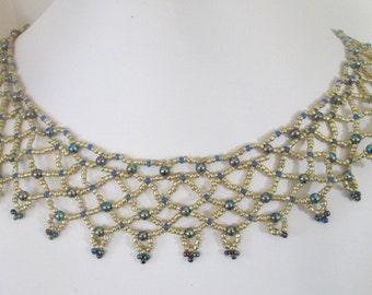 Spectacular Netted Necklace