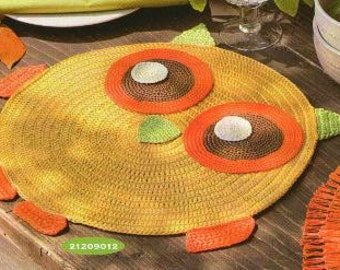 Placemat - OWL -