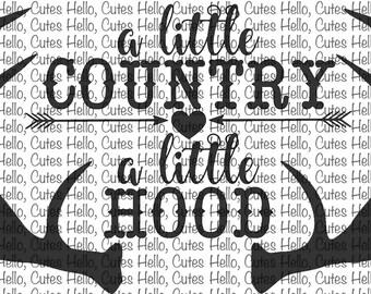 A little Country A little Hood SVG & PNG