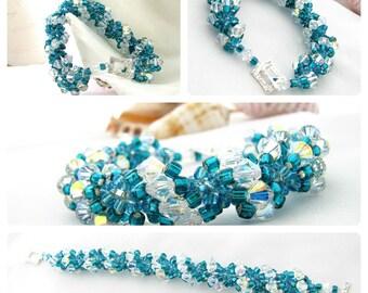 Swarovski Crystal Bracelet Pattern