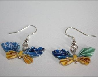 Butterfly earrings / butterfly earrings #363