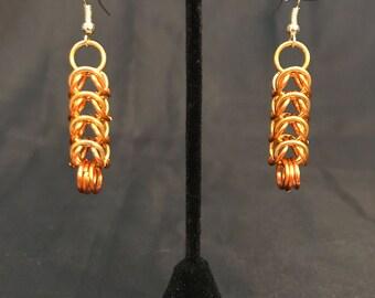 Box Weave Dangle Earrings