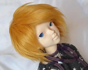 BJD Wig - Faux Fur 7-8 Butterscotch Blonde